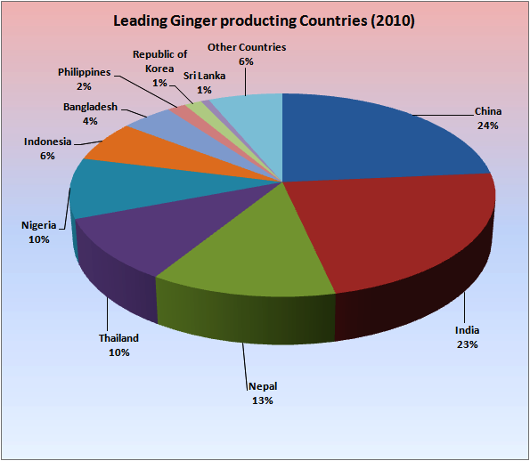Product Profiles of GINGER